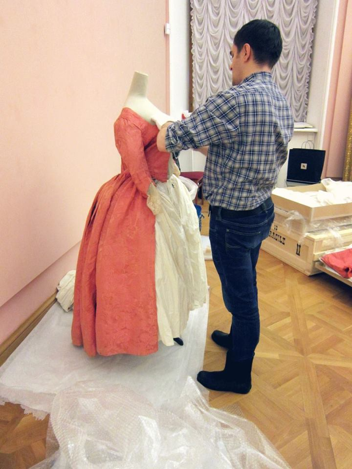 Our deepest gratitude to collector and friend Anton Pryimak for helping to dress the mannequins.